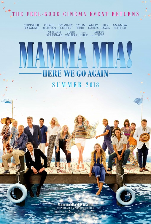 """Mamma Mia! Idemo ponovo"" (2018) – guilty pleasure za filmofile ovog leta"
